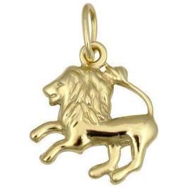 Brilio Zlatý přívěsek Lev 241 001 00814 - 0,40 g zlato žluté 585/1000