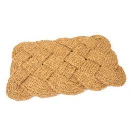FLOMAT Kokosová vstupní rohož Jumbo Rectangle - 75 x 45 x 3,5 cm