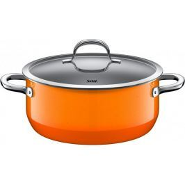 Silit Nízký hrnec Passion Orange 24 cm