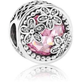 Pandora Luxusní korálek Louka sedmikrásek 792055PCZ stříbro 925/1000
