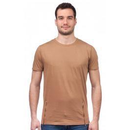 Brave Soul pánské tričko se zipy Falcone XS hnědá