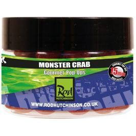 ROD HUTCHINSON Pop Ups Monster Crab With Shellfish Sense Appeal 15 mm