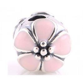 Pandora Květinový stříbrný klip 791041EN40 stříbro 925/1000