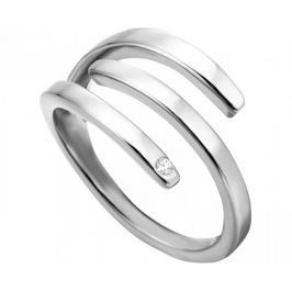 Esprit Stylový ocelový prsten Iva ESRG001614 (Obvod 51 mm)