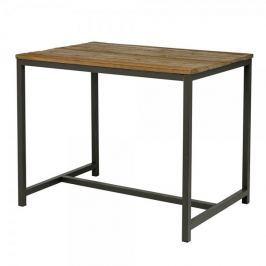 Danish Style Barový stůl s dřevěnou deskou Harvest, 130 cm