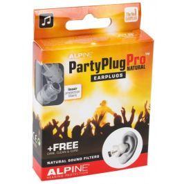 Alpine PartyPlug Pro Natural Špunty do uší