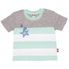 2be3 chlapecké tričko Lew 62 světle zelená