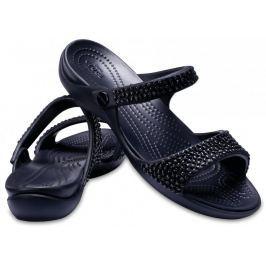 Crocs Cleo V Diamante Sandal W Black/Black W6 (36,5)
