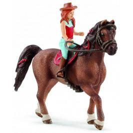 Schleich Zrzka na koni Quarter 42411