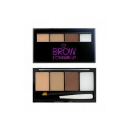 Makeup Revolution Set na obočí I Love Brows (Palette For Brow) 3 g