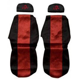 F-CORE Potahy na sedadla PS19, červené