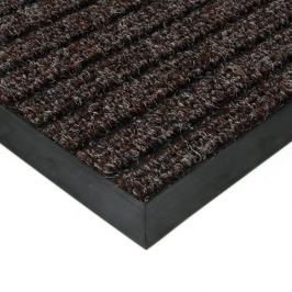 FLOMAT Hnědá textilní zátěžová čistící rohož Shakira - 300 x 300 x 1,6 cm