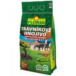 AGRO CS FLORIA Trávníkové hnojivo s odpuzujícími účinky na krtky 7,5 kg