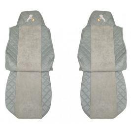 F-CORE Potahy na sedadla FX05, šedé