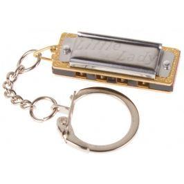 Hohner Little Lady keychain Miniatura foukací harmoniky