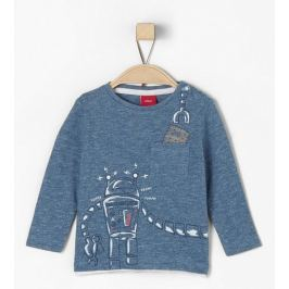 s.Oliver chlapecké tričko s robotem 62 modrá