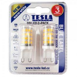 Tesla LED žárovka, G9, 3W