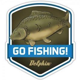 Delphin Nálepka Go Fishing
