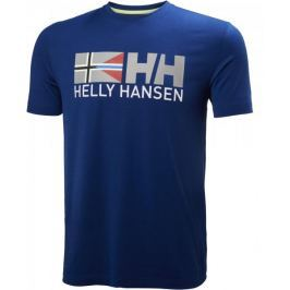 Helly Hansen Rune Ss Tee Sodalite Blue M