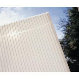 LanitPlast Polykarbonát komůrkový 16 mm opál - 7 stěn - 2,5 kg/m2 1,05x1 m