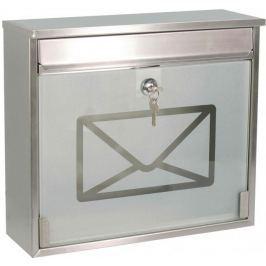 J.A.D. TOOLS Poštovní schránka nerezová TX0160G - II. jakost