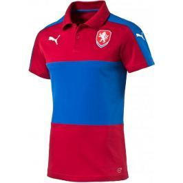 Puma Czech Republic Casuals Polo chili pepper S