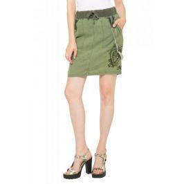 Desigual dámská sukně 34 zelená