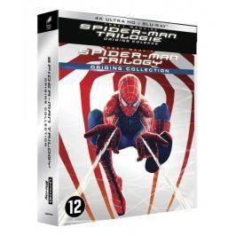 Spider-Man ORIGINS COLLECTION  (UHD + BD, 6 disků + bonus)   - Blu-ray + 4K ULTRA HD