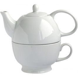 Toro Konvice na čaj 480 ml se šálkem, porcelán