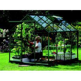 VITAVIA skleník VITAVIA VENUS 5000 čiré sklo 3 mm zelený