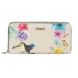 Desigual dámská vícebarevná peněženka Fiona Lilac
