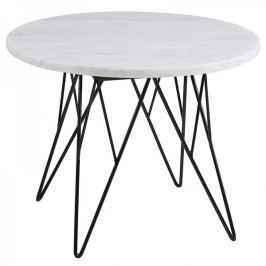 Design Scandinavia Konferenční stolek Stark, 55 cm, mramor