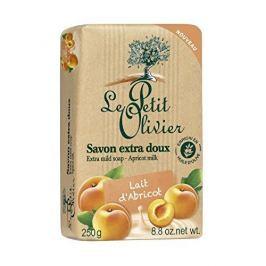 Le Petit Olivier Extra jemné přírodní mýdlo Meruňkové mléko (Extra Mild Soap) 250 g