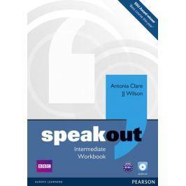 Clare Antonia: Speakout Intermediate Workbook No Key and Audio CD Pack