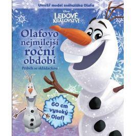 Disney Walt: Ledové království - Olafovo nejmilejší roční období + model Olafa