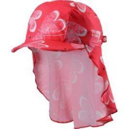 Reima Dětská čepice proti slunci Octopus UV 50+ 44/46 červená