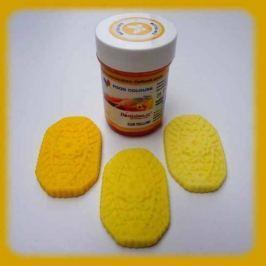 Food Colours Gelová barva  zářivě žlutá 35g