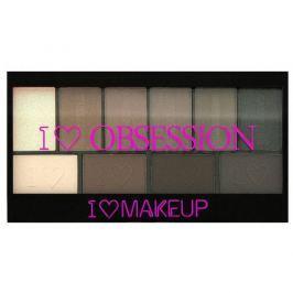 Makeup Revolution Paletka 10 očních stínů Znovuzrozená I LOVE MAKEUP (Obsession Palette Born to Die) 17 g
