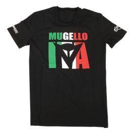 Dainese pánské triko MUGELLO D1 vel.S černá
