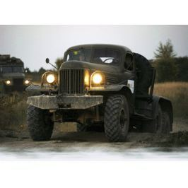 Poukaz Allegria - řízení vojenského náklaďáku