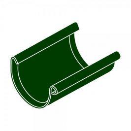 LanitPlast Spojka žlabu RG 100 půlkulatá zelená barva