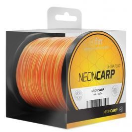 FIN Vlasec Neon Carp Žluto Oranžová 1000 m 0,35 mm, 20,4 lb