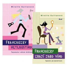 Guilianová Mireille: Komplet Francouzky zrají jako víno + Francouzky netloustnou