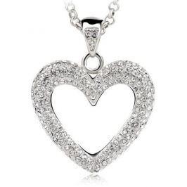 Vicca Náhrdelník Big Heart OI_140240_crystal