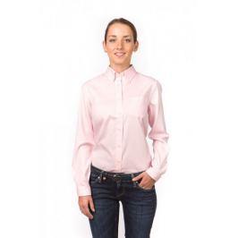 Gant dámská košile s náprsní kapsičkou 34 růžová