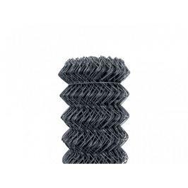 Čtyřhranné pletivo Zn+PVC 50 (kompakt, bez ND) - výška 160 cm, antracit, 25 m