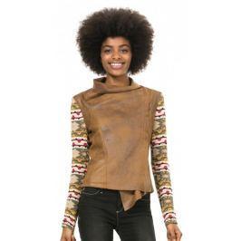 Desigual dámská bunda 36 vícebarevná