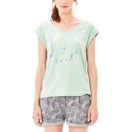 s.Oliver dámské tričko 34 zelená
