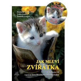 Gregor Dalibor: Jak mluví zvířátka + CD (Vyprávějí Jana Boušková a Václav Vydra)