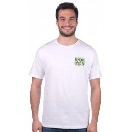 Rip Curl pánské tričko Live Your Search M bílá